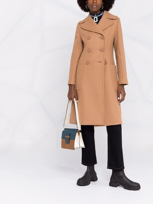 See by Chloe Tailored Wool Coat