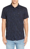 RVCA Men's 'Tunnels' Trim Fit Woven Shirt