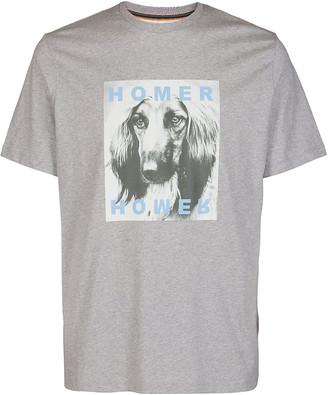 Paul Smith Grey Cotton T-shirt
