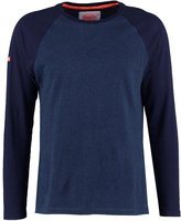 Superdry Long Sleeved Top Indigo Blue Grit