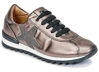 Unisa DONYA girls's Shoes (Trainers) in Brown