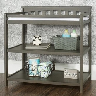 Harriet Bee Rabia Changing Table with Pad Color: Dapper Gray
