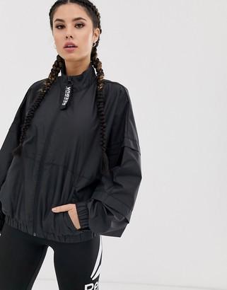 Reebok Training jacket in black