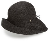 Helen Kaminski Women's 'Provence 10' Packable Raffia Hat - Grey
