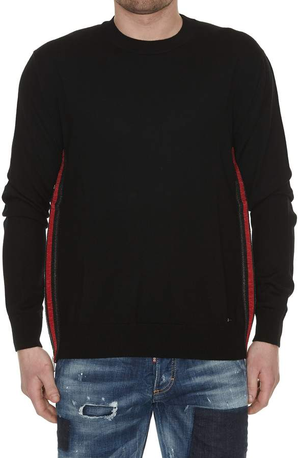 DSQUARED2 Zip Detail Sweater