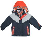 Big Chill Boys 4-7 Hooded Geometric Mountain Heavyweight 3-in-1 Systems Jacket Vest