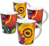 Waechtersbach Power Art 4-pc. Mug Set
