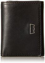 Levi's Men's Trifold Wallet with Levis with Batwing Hardware Logo