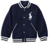 Ralph Lauren Boys' Wool Blend Varsity Jacket - Sizes 2-7