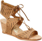 Dolce Vita Langly Leather Wedge Sandal