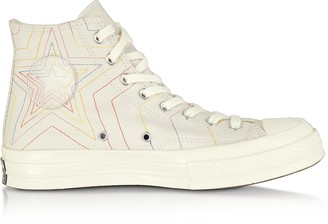Converse Limited Edition Pale Putty Chuck 70 Exploding Star High Top