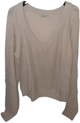 Mes Demoiselles ... Beige Cotton Knitwear for Women