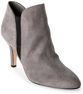 Anne Klein Grey Brushin Ankle Booties