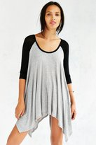 BDG Round The Bases Tunic Top