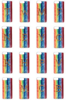 Edie Parker + Goo.ey Rainbow Printed Plastic Iphone 6, 6s And 7 Case