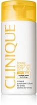 Clinique Broad Spectrum SPF 30 Mineral Sunscreen Lotion for Body - Sensitive Skin Formula