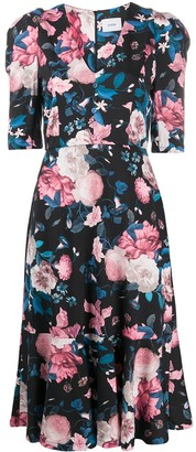 Erdem floral printed midi dress