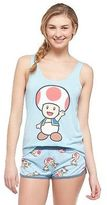 Nintendo Womens Toad Says Hi Pajama Set
