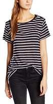Gestuz Women's Mag Striped Short Sleeve Tops
