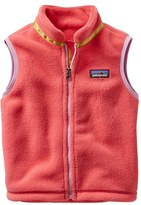 Patagonia Toddler Girl's 'Synchilla' Fleece Vest