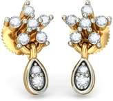 PEACOCK JEWELS 14K Yellow Gold 0.14 cttw White-Diamond (IJ | SI) Drop Earrings