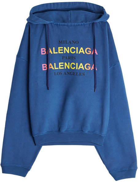 Balenciaga Paris Milan LA Cotton Hoody
