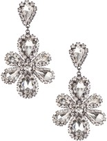 Dennis Basso Basso's Baubles Marquise Crystal Floral Drop Earrings