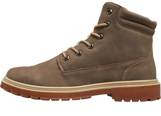 Mad Wax Mens Cleat Sole Boots Brown