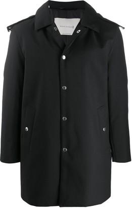 MACKINTOSH Dunoon short hooded coat
