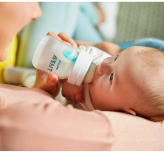 Avent Naturally Anti-colic Bottles with AirFree Vent (3x 4 oz/125 ml)