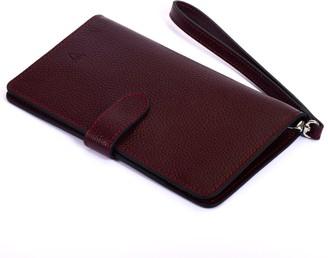 Atelier Hiva Ita Leather Wallet Burgundy