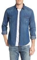BOSS ORANGE Men's Erodeo Denim Shirt