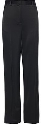 Donna Karan Satin Wide-leg Pants