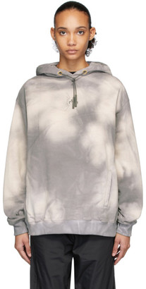 A-Cold-Wall* A Cold Wall* SSENSE Exclusive Grey Logo Hoodie