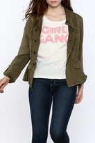 Sanctuary Sunset Safari Band Collar Twill Jacket