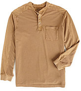Roundtree & Yorke Casuals Long-Sleeve Pieced Henley