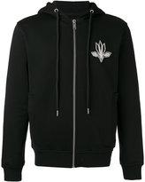 Les Hommes zipped hoodie - men - Cotton - S