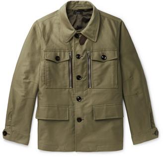 Tom Ford Cotton-Twill Field Jacket