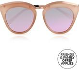 Le Specs Eye Slay Sunglasses- Peach