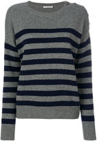 Vince striped jumper - women - Cashmere - S