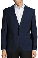 HUGO Blended Wool Long Sleeve Jacket
