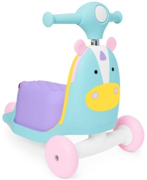 Skip Hop Zoo 3-in-1 Ride-On Unicorn Toy Scooter