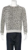Saint Laurent Babycat Print Sweatshirt
