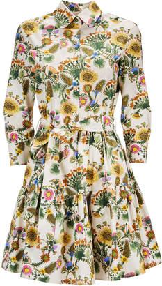 La DoubleJ Bellini Printed Mini Dress