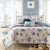 JCPenney Madison Park Nantucket Coastal Quilted Coverlet Set