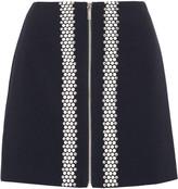 MICHAEL Michael Kors Hotfix embellished ponte mini skirt