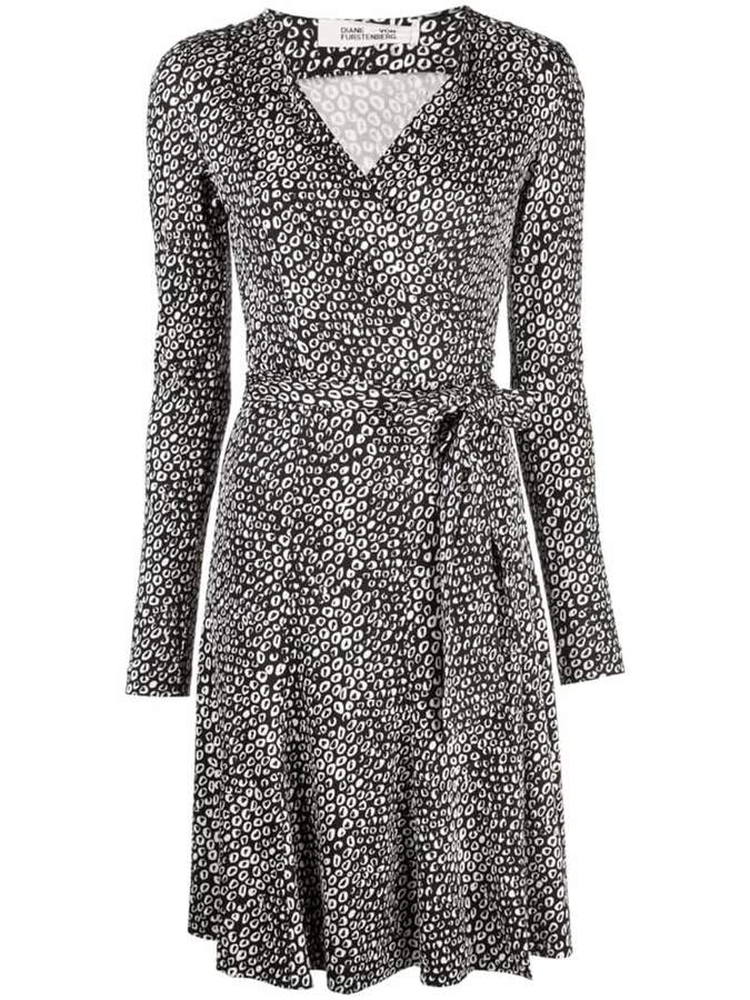 Diane von Furstenberg Julian jersey wrap dress