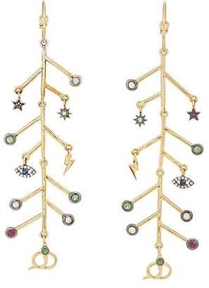 Eye M Women's Earth Branch Earrings - Gold