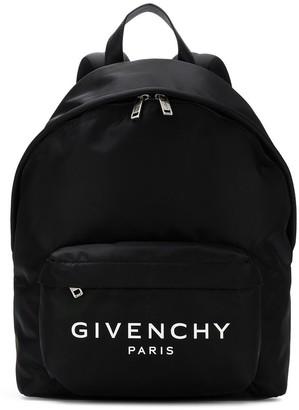 Givenchy nylon logo back pack
