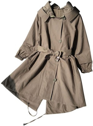 Max Mara 's Green Trench Coat for Women